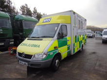 Mercedes Sprinter Emergency Ambulance Paramedic Vehicle 416 Cdi