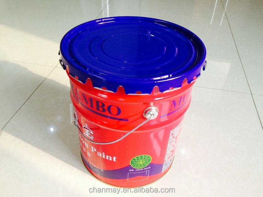 18L metal can with steel handle for paint, coating or other chemical products