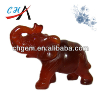 wholesale feng shui products& red agate elephant