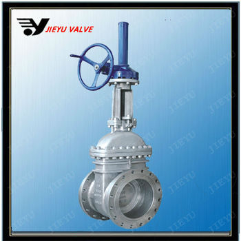 WCB Gear Operated Flanged/Welding gate valve