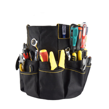 Custom Made Heavy Duty Service Maintainance Kit Carrier Bag Technician Plumber Garden Electrician Bucket Tool Organizer