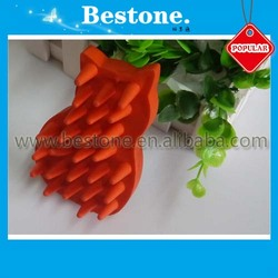 Rubber Dog Grooming Hair Brush
