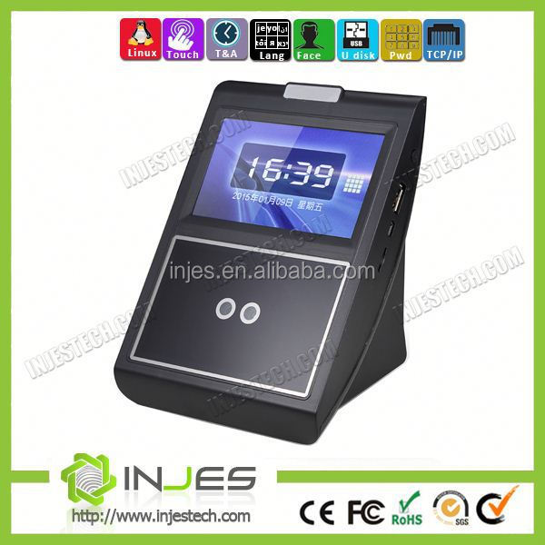 4.3 Inch Touch Screen Linux WIFI GPRS Wireless Face Recognition Attendance System Device(MYFACE5)