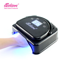 High powerful LED nail pedicure lamps LCD display Timer setting in 15s,30s,45s,60s nail polish lamp