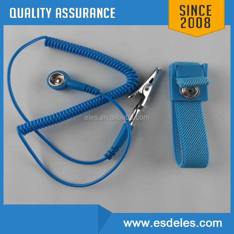 ESD Ring Terminal Cable Anti Static Socket Ground for Wrist Strap