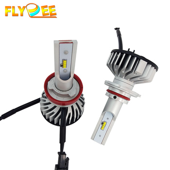 Hot sell auto car F2S led headlights 6000K 8000LM 30W led headlight bulbs H4 H7 9004 9005 car head lights led headlight