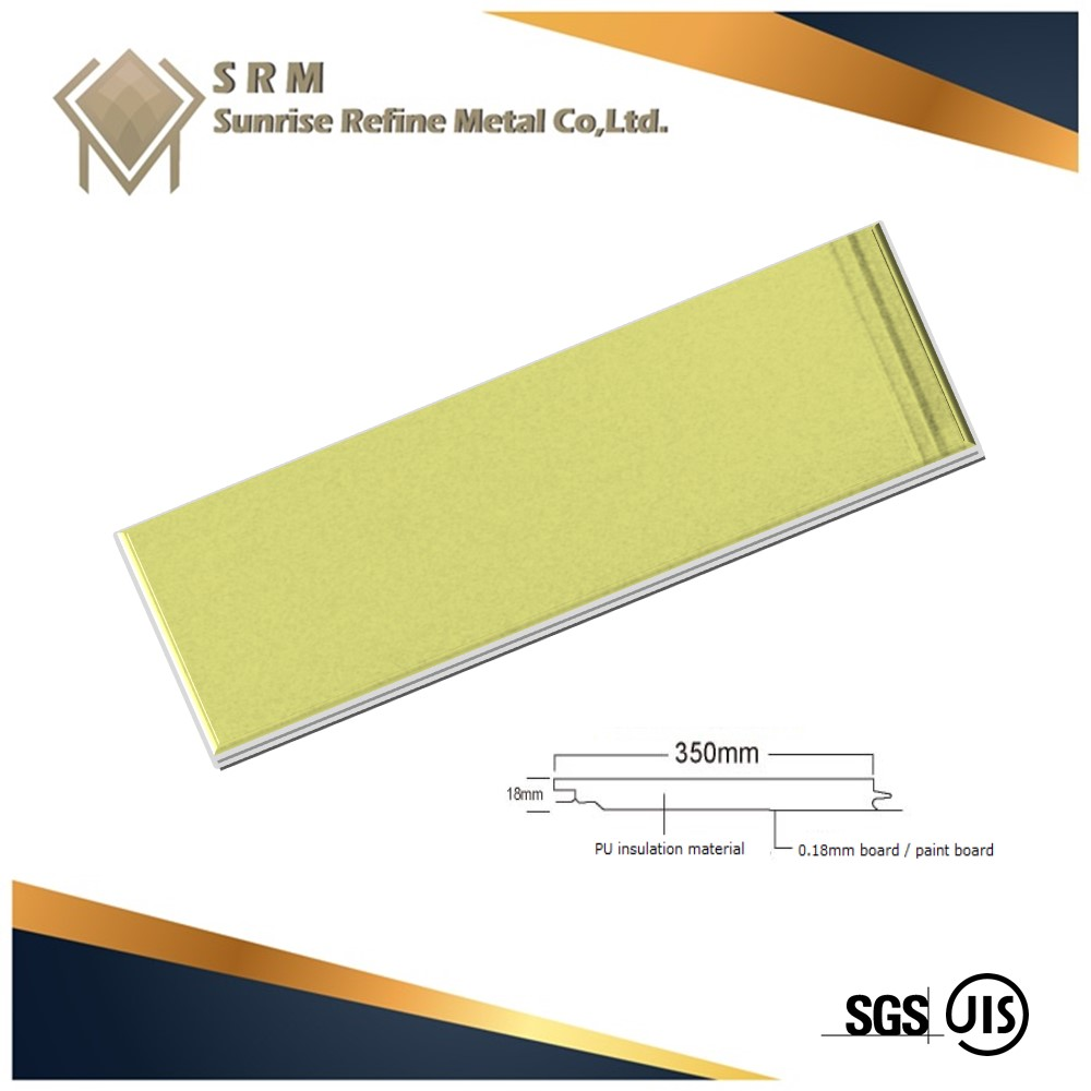 Buying In Bulk Wholesale Roofing Shingles PU Sandwich Wall Panel