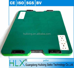 HLX Green PVC tooling pallet with socket for assembly line wholesale by trade assurance