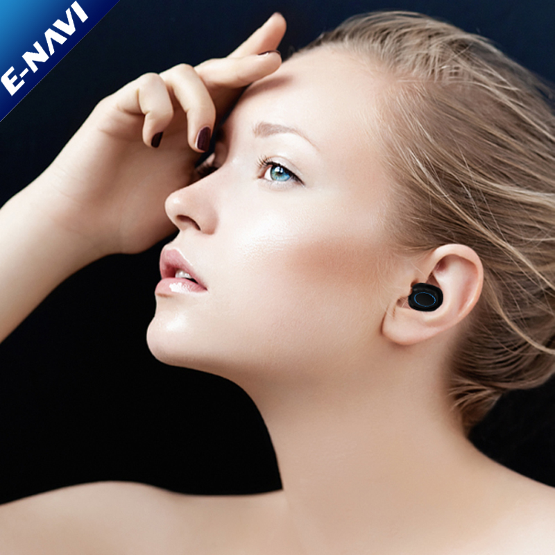 2018 V5.0 Promotional Earbuds Gifts Wireless Earphone Stereo In Ear Earphone for Mobile Phone with Charging Cases
