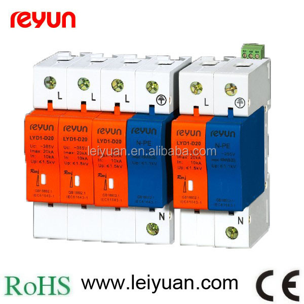 Din Rail Transient Surge Protections Devices