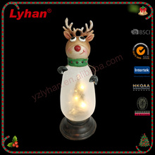 Lyhan 2017 Christmas led lights Christmas deer new style Christmas table decoration