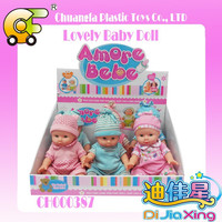 12 inch plastic promotion gift baby doll toys for kids