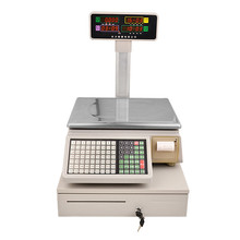 JL910 Waterproof Receipt Printing Electronic Price Computing <strong>Scale</strong> with RS-232 and USB
