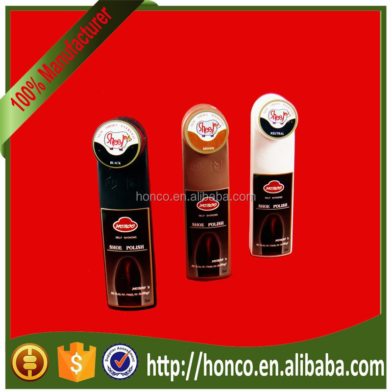 Hot selling Natural liquid shoe polish for any colour shoes