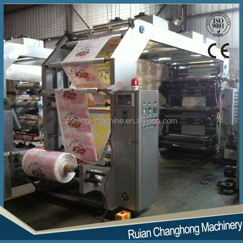 6 Colours High Speed Flexo Printing Machinery