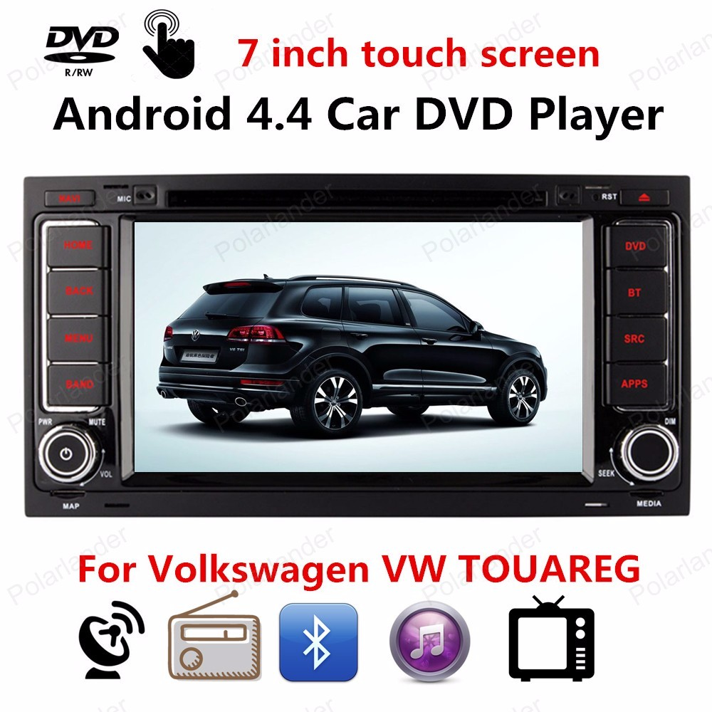 with GPS Navigation For Volkswagen VW TOUAREG 2002 2003 2004 2005 2007 2010 Car DVD player support Bluetooth 3G/Wifi CD