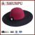 ladies' polyester wool wide brim felt hat,felt hat pattern