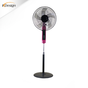New replacement base AS blades remote control stand fan unique design 2.5KG base pedestal stand fans