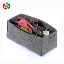 Make to order cheapest car organizer bag, MultiPocket Insert wool felt bag organizer