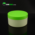 5oz / 140g High quality Cosmetic Container PP Plastic Round Flat Loose Powder Sifter Jar with Flip Top Cap