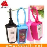 Soft silicone liquid soap bottle cover & hand wash bottle sleeve, hand sanitizer bottle cover