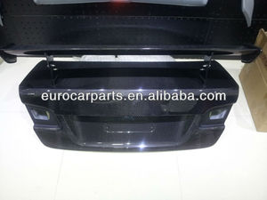 High quality Universal M3 style Carbon fiber rear hood trunk bonnet for 3 series
