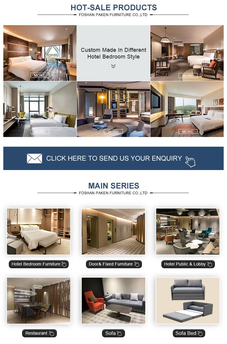 OEM personnalisé turc meubles canapé-lit en tissu pour hôtel 5 étoiles