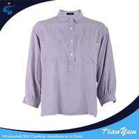 Hot sale Professional new woven casual blouse for fat woman