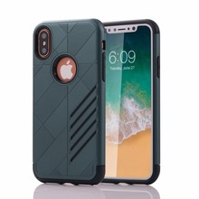 2017 best selling hard tpu pc material phone case for iphone X armor mobile case