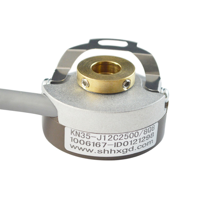 high quality encoder KN35 Pulse Generator Optical Encoder for CNC Machinery with leaf spring 35T29