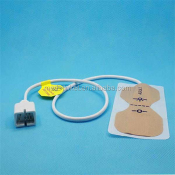 OEM high quality disposable pulse oximeter SpO2 sensor with 0.9mm cable