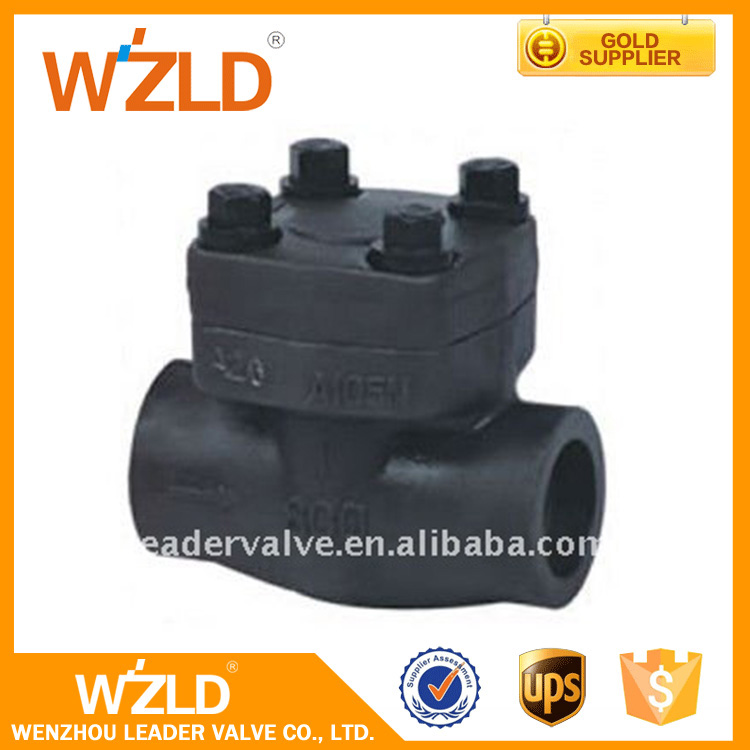 WZLD Handle Controlled Air,Water,Gas Medium 1/4 Inch Mini Forged Welded Check Valve