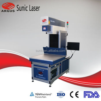 100W 150W 275W Dynamic CO2 Laser Marking Machine for Leather Processing Light Guide Plate Marker