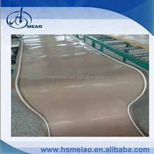 PTFE coated conveyor belt with white 10*10mm guider