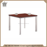 ba zhou Hot Sale Modern Density board restaurant table Coffee Table