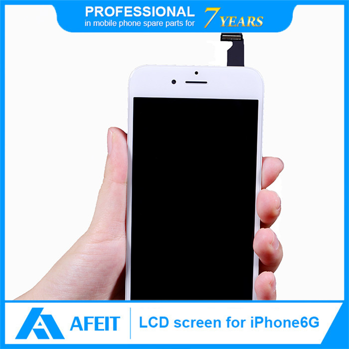 No Dead Pixel 4.7 inch Black White Lcd Touch Screen For Iphone 6 Lcd Display Cell Phone Replacement Parts Digitizer Lcd Display