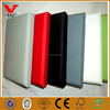 Fabric leather wrapped acoustic panels for hotel decorative background wall