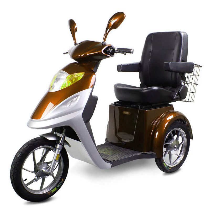 Convertible/open body electric passenger tricycle