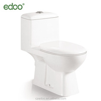 Middle East/Indian Design cheap one piece washdown toilet with built-in bidet bathroom sanitaryware