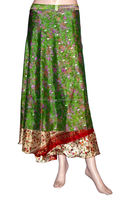 Silk Wrap Around Skirt in Jaipur, Rajasthan