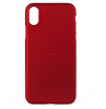 Wholesale Matte Luxury Hard Back 5.8 inch Red Phone Cover Case for iPhone 8 case