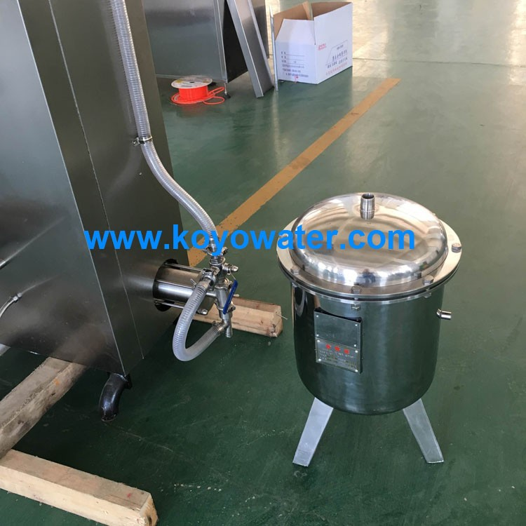 KOYO Water Sachet Filling Machine+UV Sterilizer + Pump