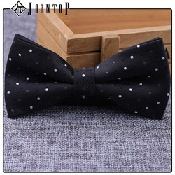 high quality stock mini black suit bow tie for decoration