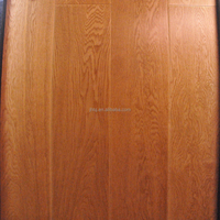 European Oak Smooth Engineered Wood Flooring Natural Color