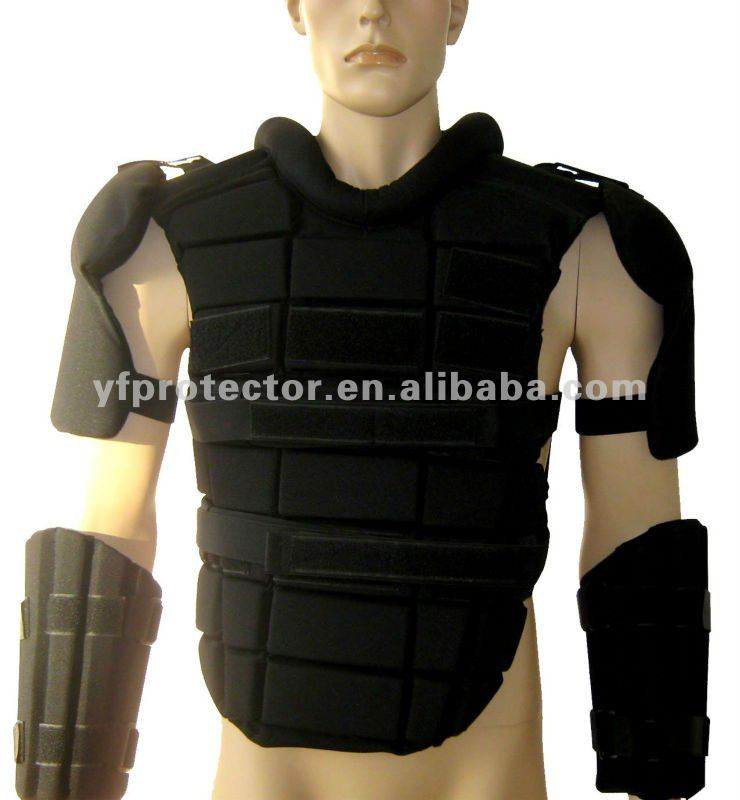 stab proof vest Chest Protector Anti-Riot Gear Police Army Riot Security Gear /Anti-Riot Chest Protector