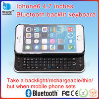 VMK-27 flexible bluetooth wireless backlight keyboard for Iphone 6