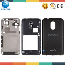 Original New Housing Replacement Case For Samsung galaxy s2 d710 Full Housing Battery Door Back Cover Middle Plate Complete