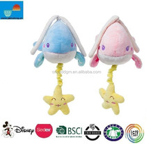 plush toy with musical pull string/baby musical hanging toys/pull string musical plush toys