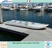 GTK548 Goethe 18' Heavy-Duty Extra Large Inflatable Sea Kayak Boat