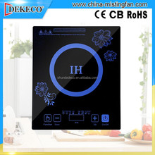 induction and halogen cooker